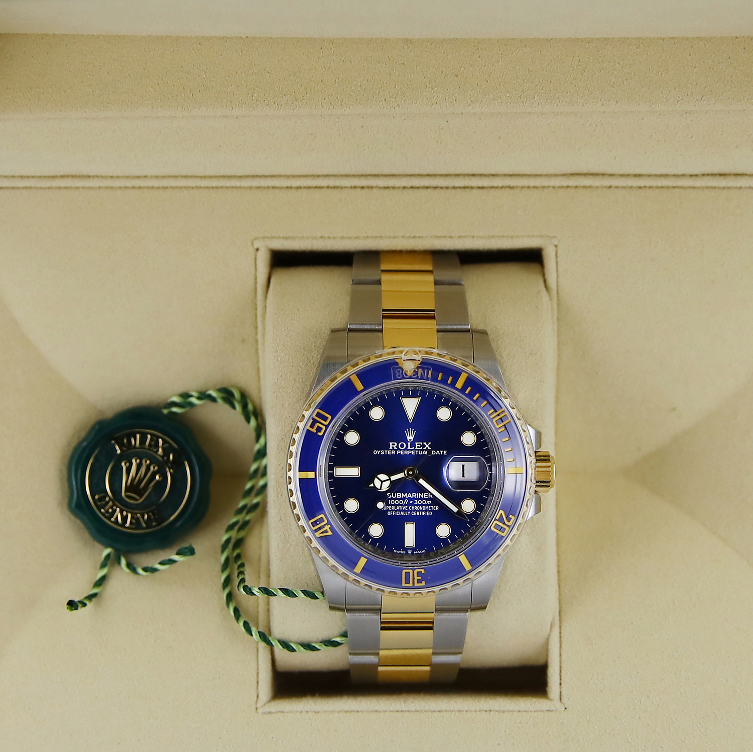 Rolex Submariner 126613lb Steel Gold Blue 41mm 2020