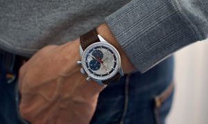 38mm chronograph