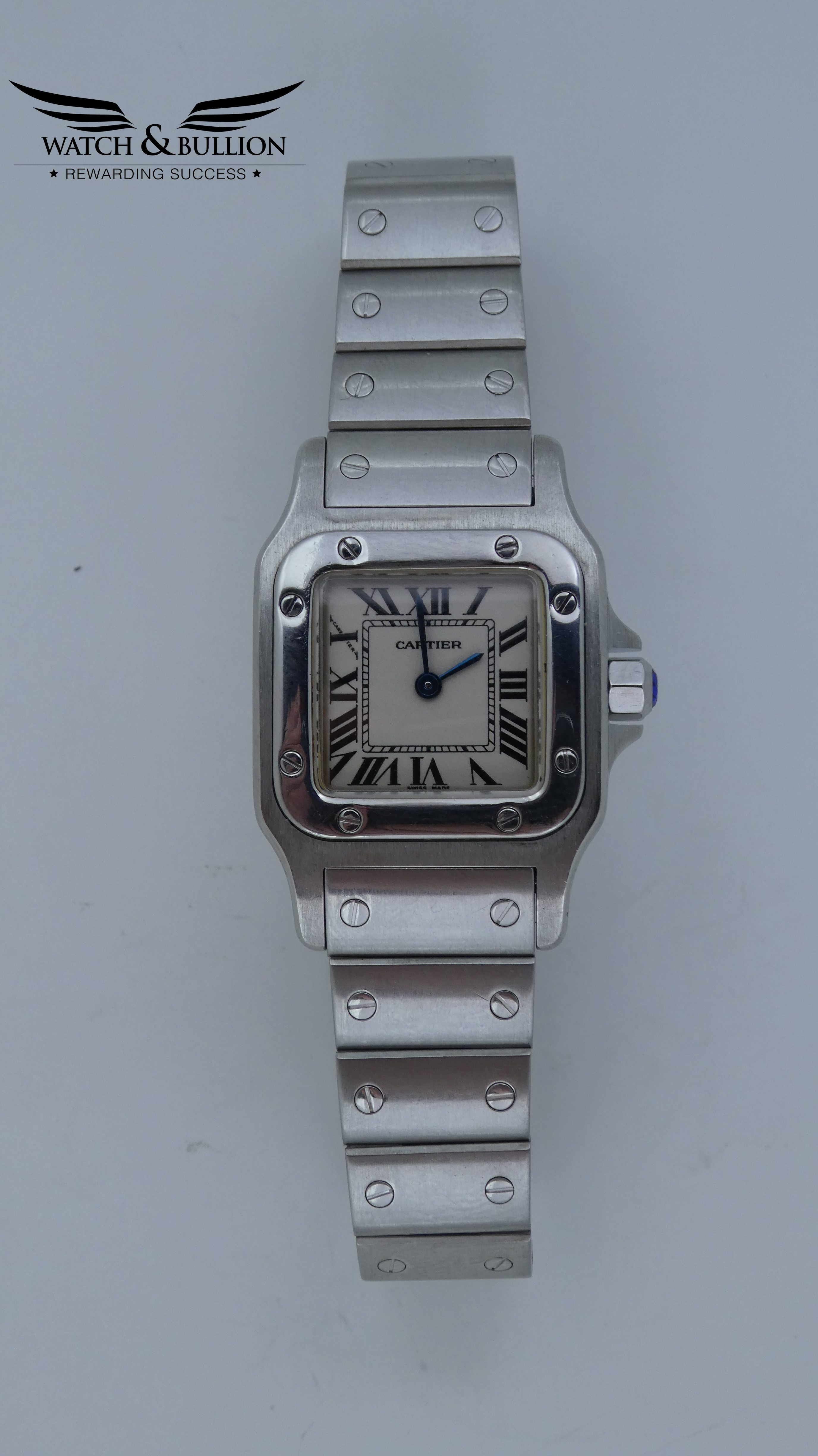 Cartier Santos Galbée Stainless Steel Ladies