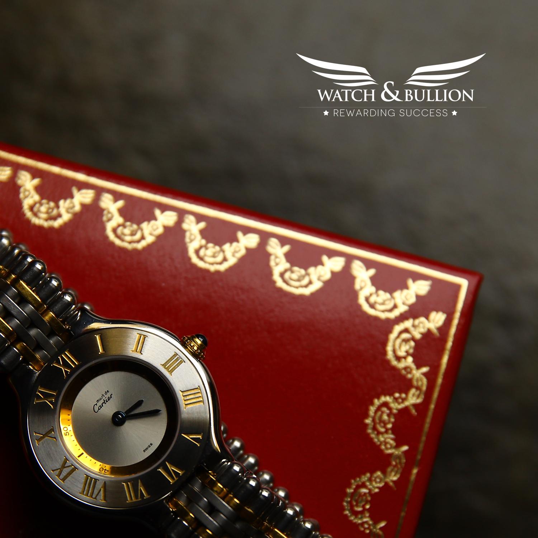 Cartier 21 Must de Cartier 1340 Bullet