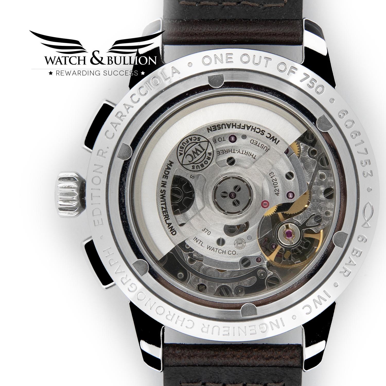 IWC Ingenieur Chronograph Edition Rudolf Caracciola Limited