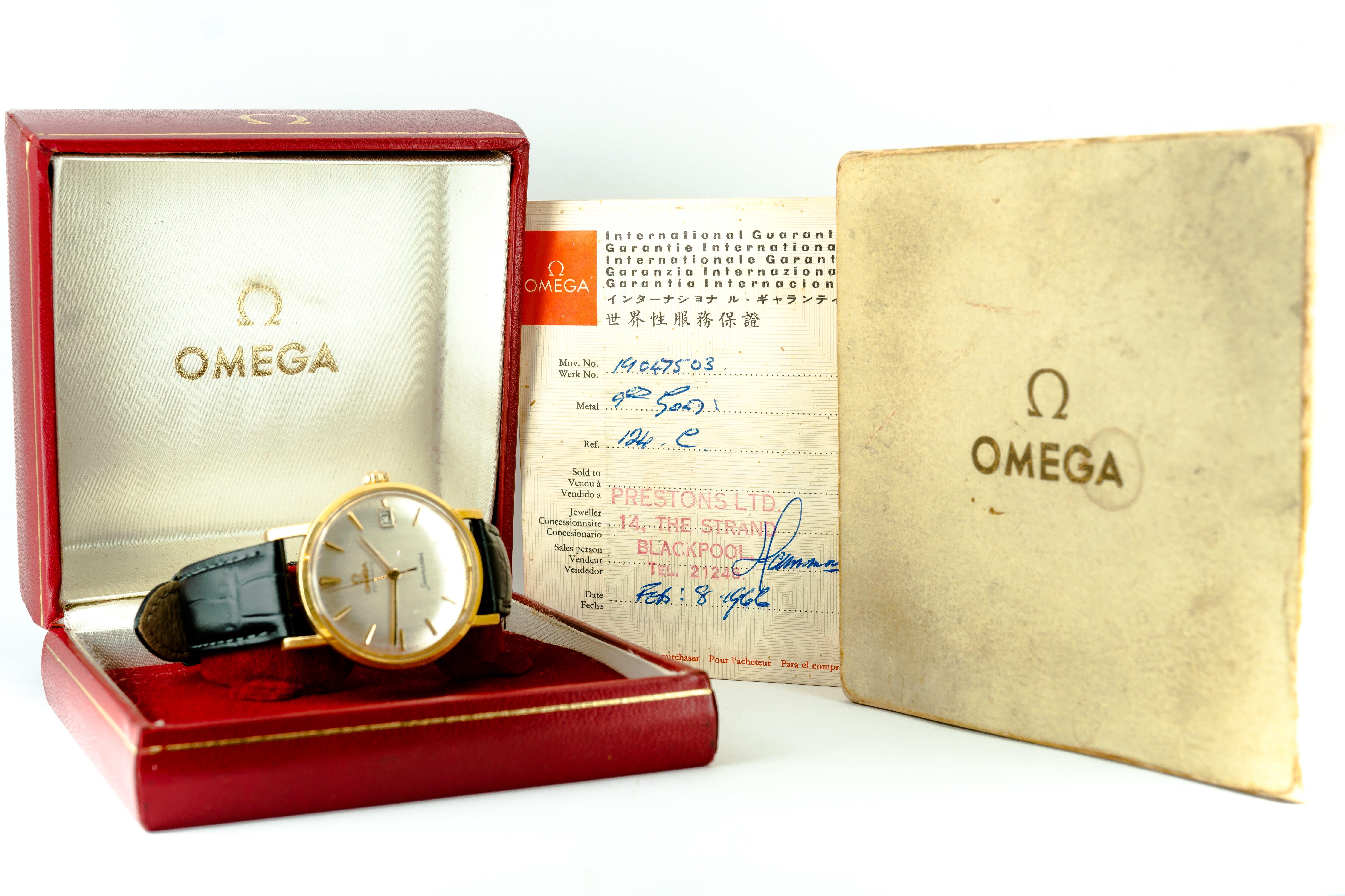 Omega Seamaster 1966 Date