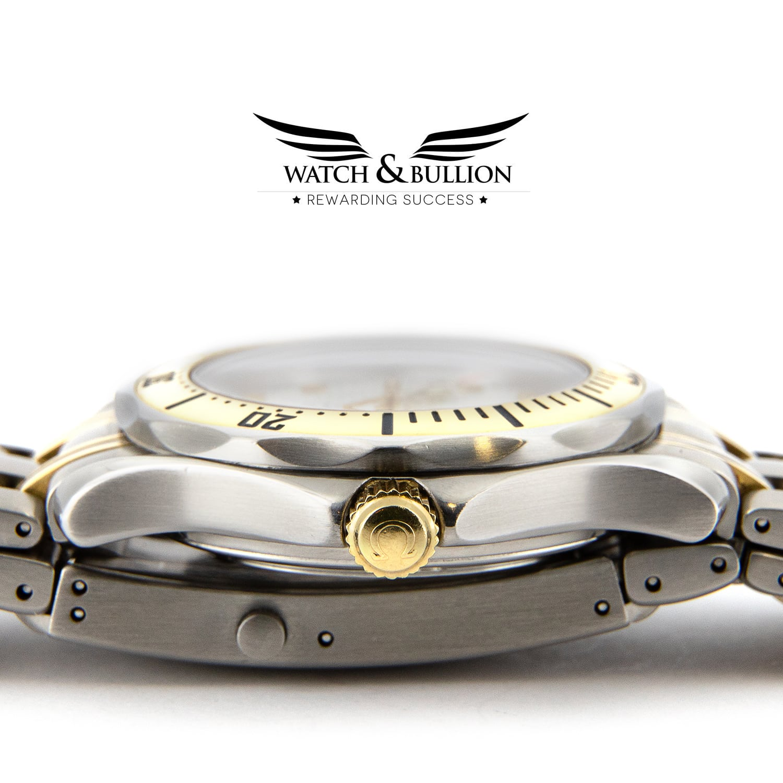 Omega Seamaster Professional 300 White Wave Dial Quartz