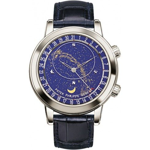 Patek Philippe 6102P Sky Moon Platinum Celestial