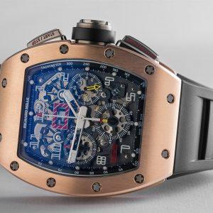 Richard Mille RM 011 Rose Gold Felipe Massa Flyback Chronograph