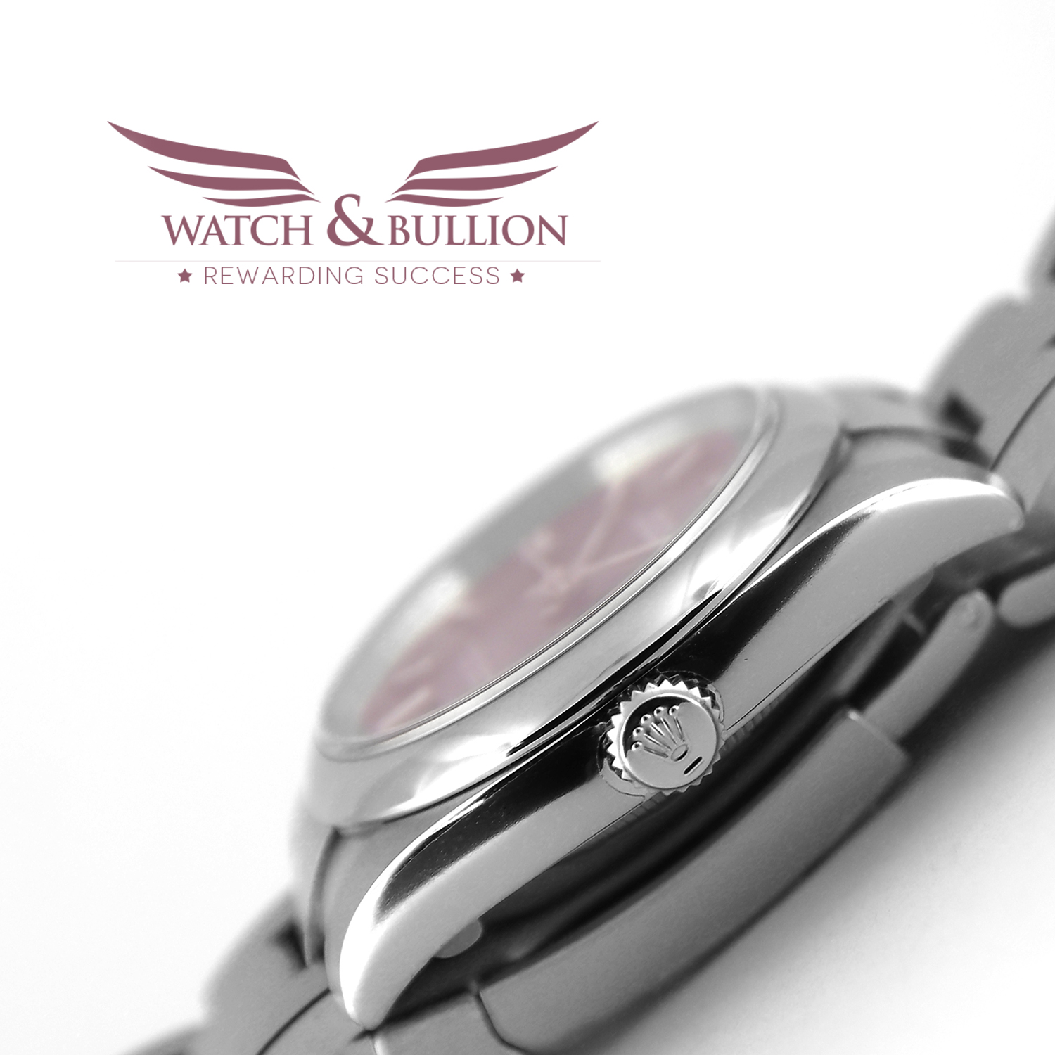 Rolex Oyster Perpetual 36 Red Grape Dial