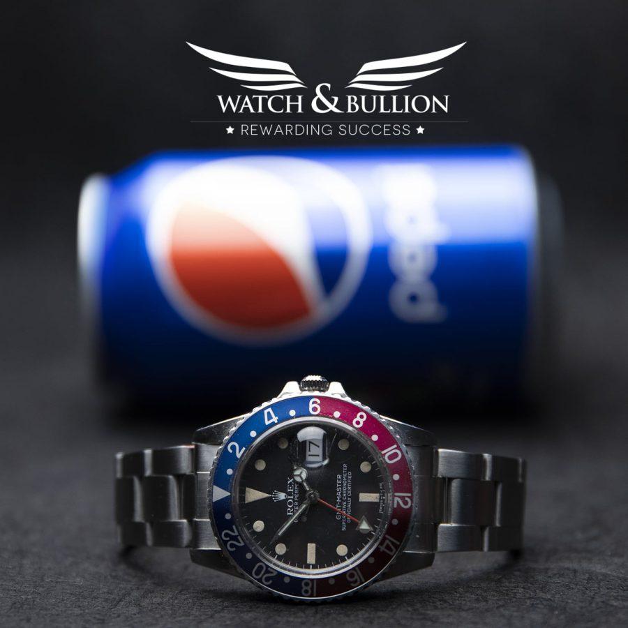 Rolex GMT-Master Pepsi 16750