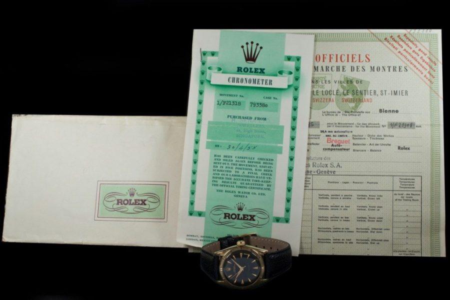 Rolex 6085 Thunderbird Bezel 1954