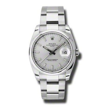 Rolex Date Silver Dial 115200