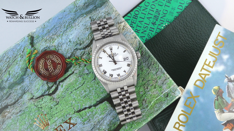 Rolex Stainless Steel Datejust 16030