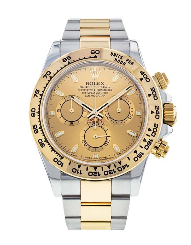 Rolex Daytona Stainless Steel and Gold 116503
