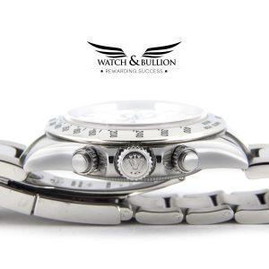 Rolex Daytona Stainless Steel White Dial 116520
