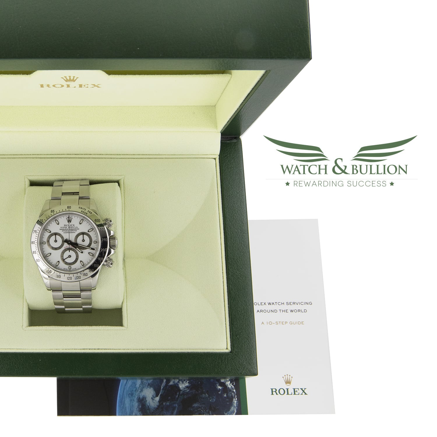 Rolex Daytona Stainless Steel White Dial 116520