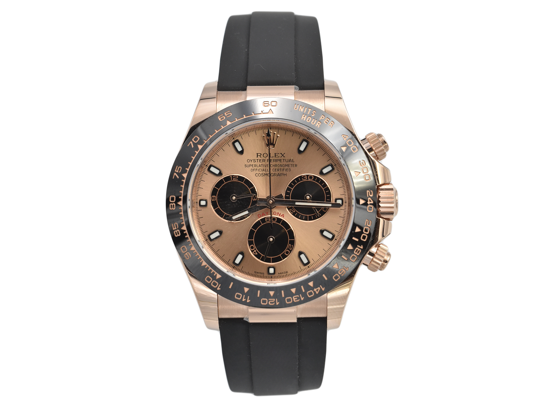 Rolex Daytona Oyster Flex 116515LN Rose Gold