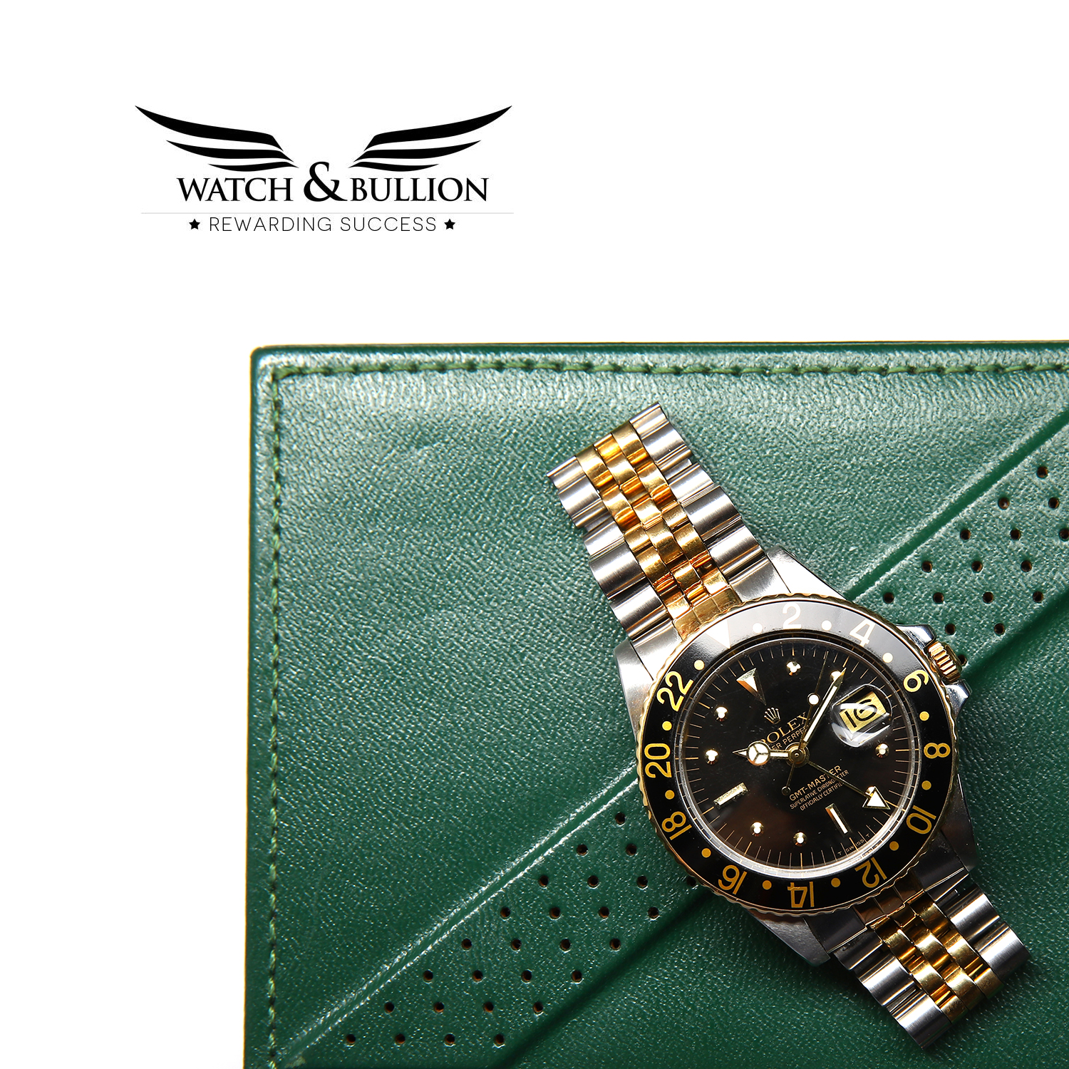 Rolex GMT-Master 16753 Jubilee Two-Tone Black Nipple Dial