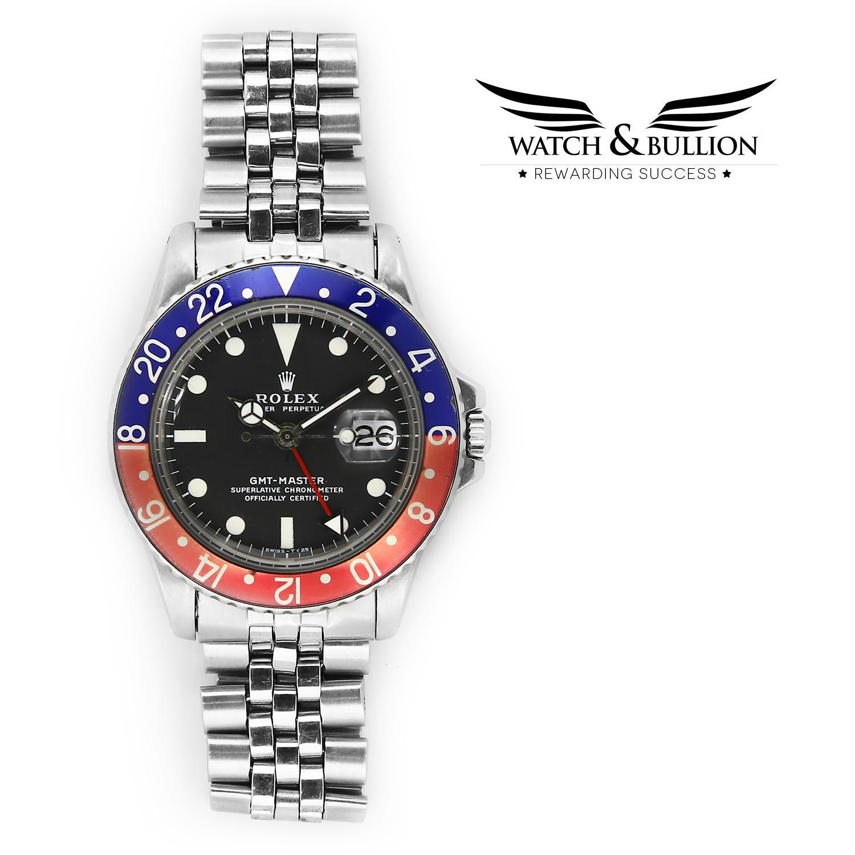 Rolex GMT-Master 1675 Matte Dial Jubilee Bracelet