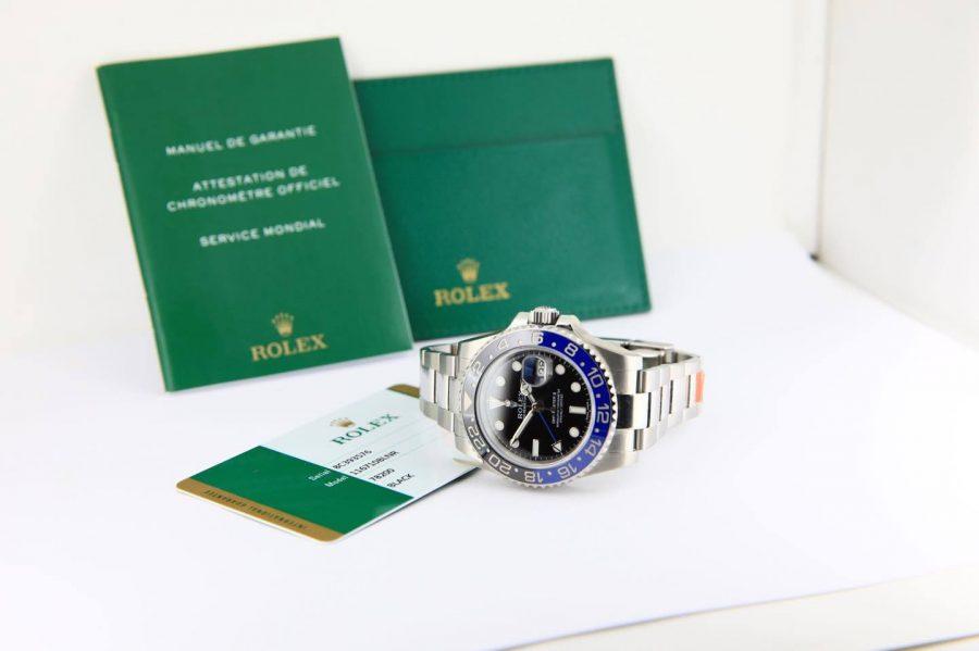 Rolex GMT Master II 16710 BLNR Batman