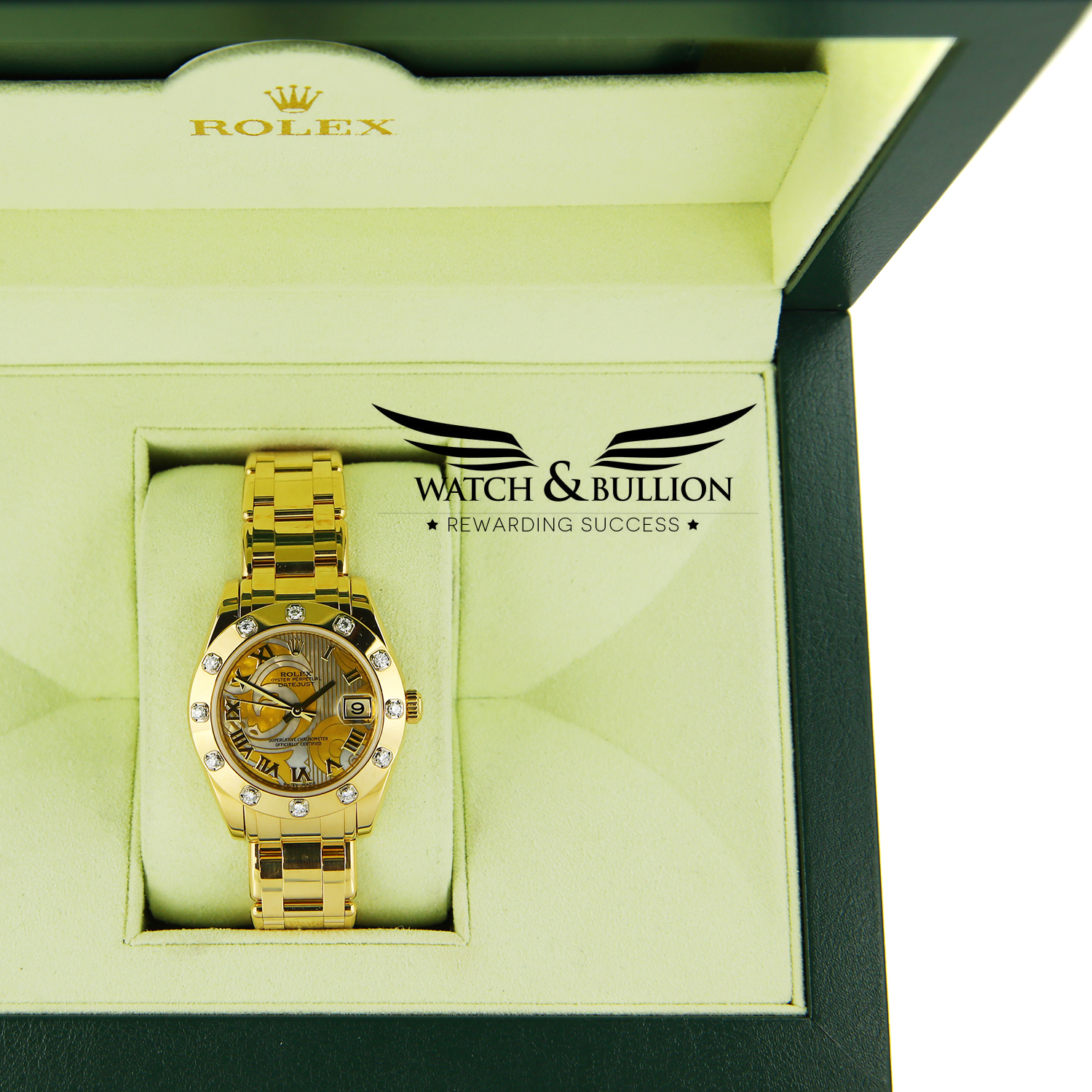 Rolex Lady-Datejust Pearlmaster 81318