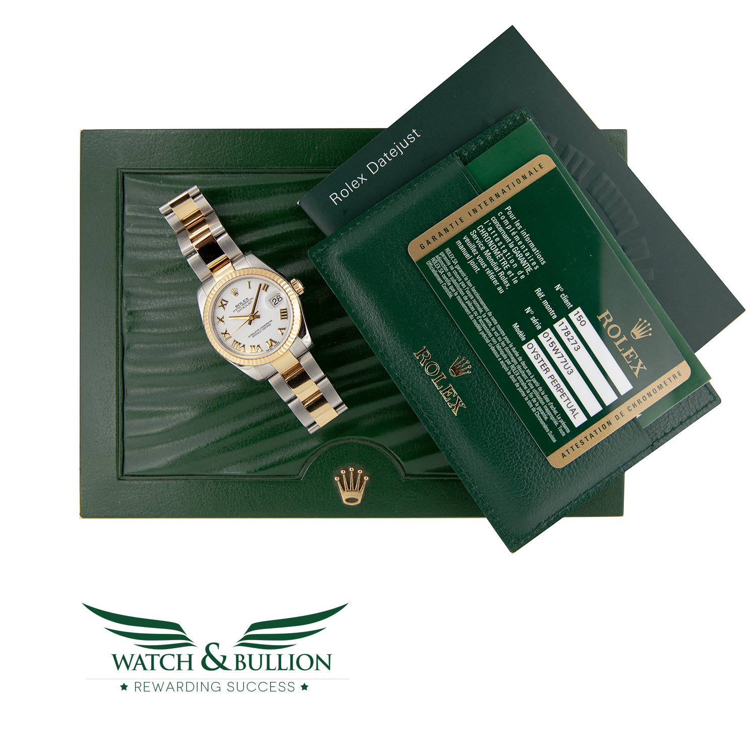 Rolex Lady-Datejust Steel and Gold 31mm