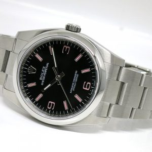 Rolex Oyster Perpetual 36 Arab Pink Index
