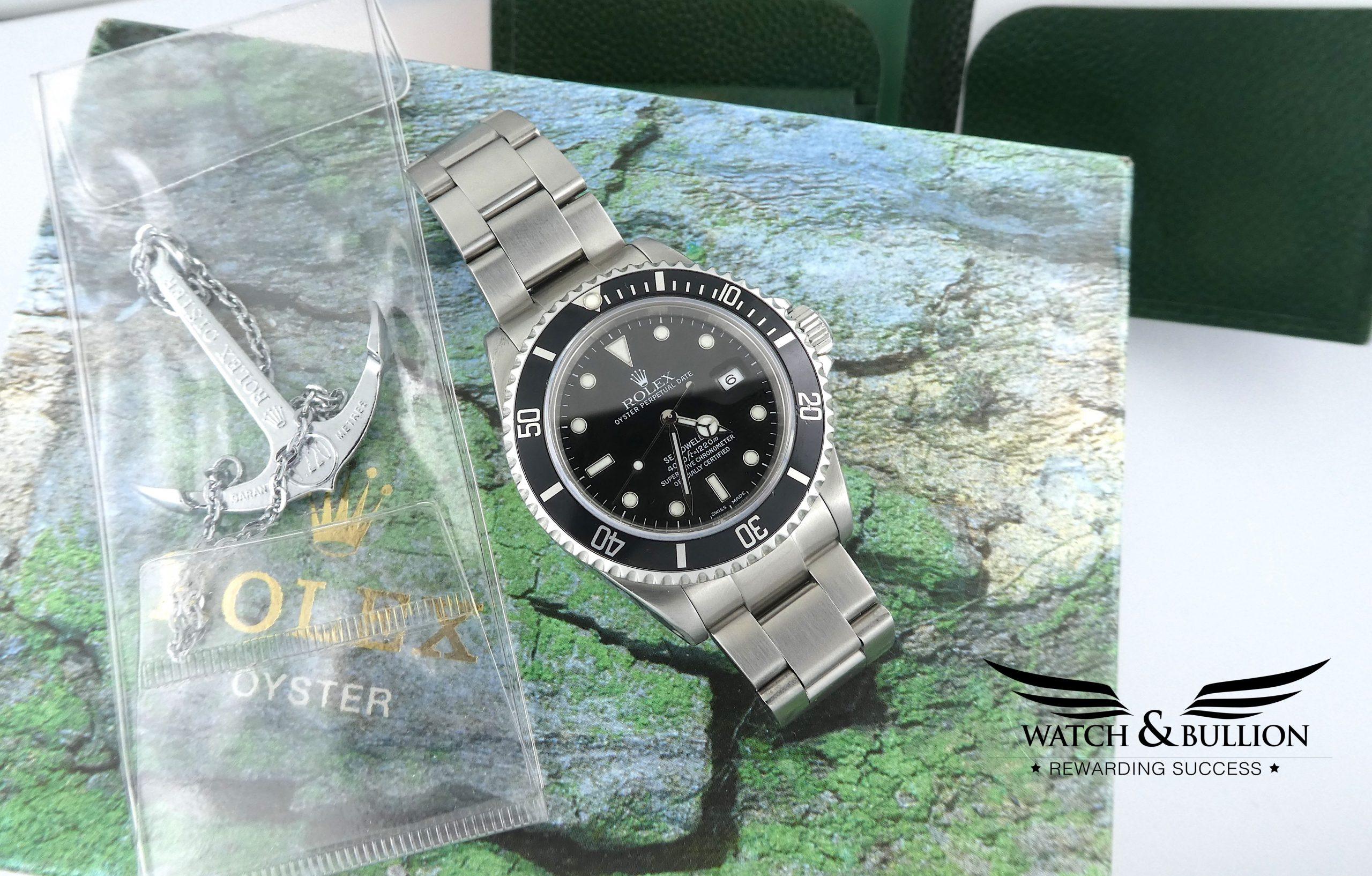 Rolex Sea-Dweller 16600 Y Series Full Set