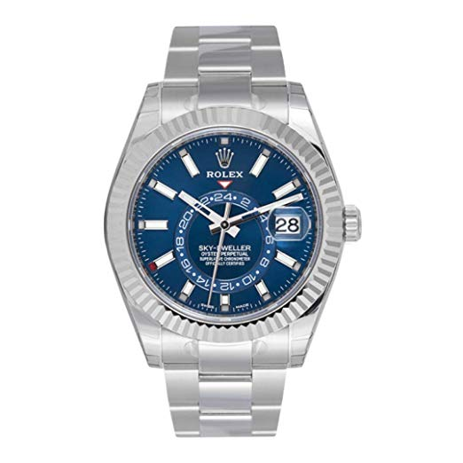 Rolex Sky-Dweller Blue Dial 326934 with Stickers