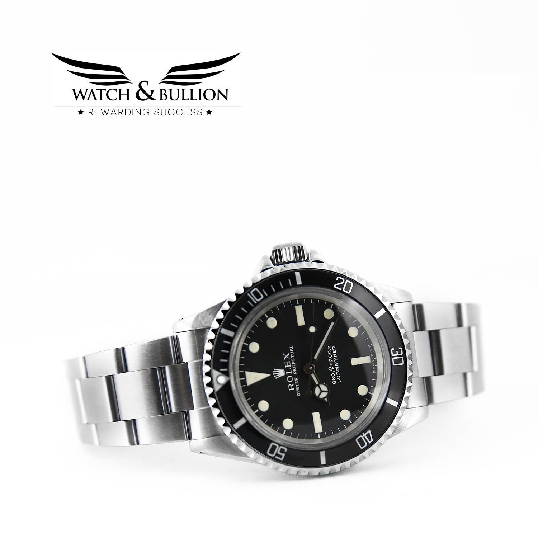 Rolex Submariner 5513 (No Date) 1970 Matte Dial