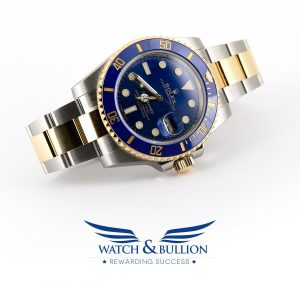 Rolex Submariner Date, Steel-Gold, Blue Dial - 116613LB