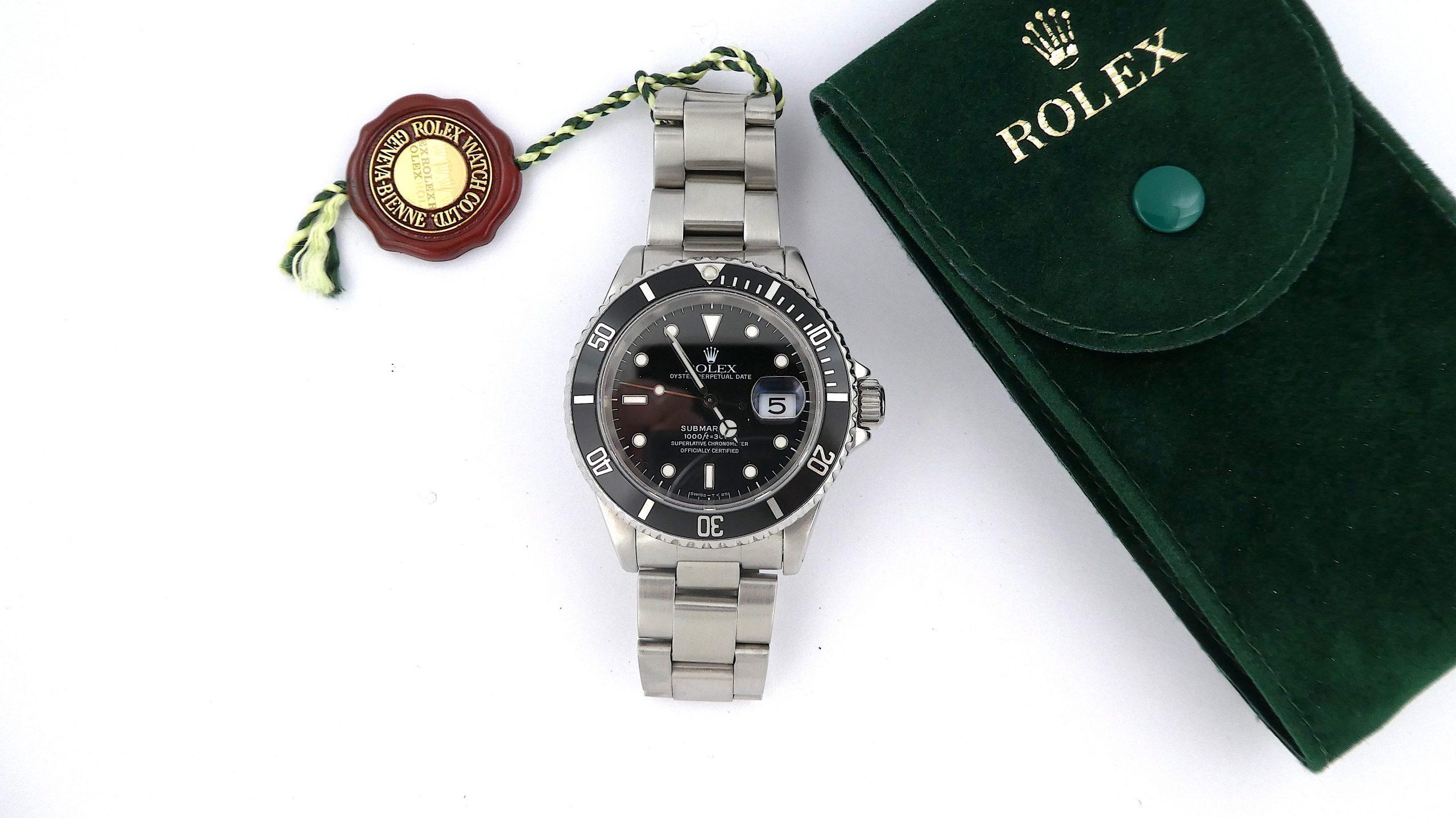 Rolex Submariner Stainless Steel Date