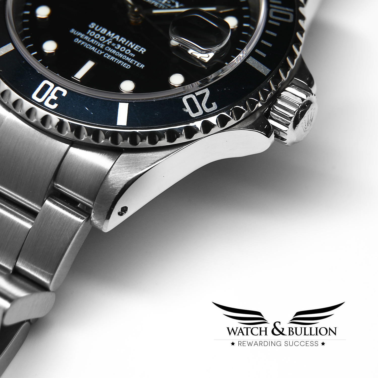 Rolex Submariner Stainless Steel Date 16610