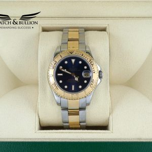 Rolex Yacht-Master Mid-Size Blue Dial