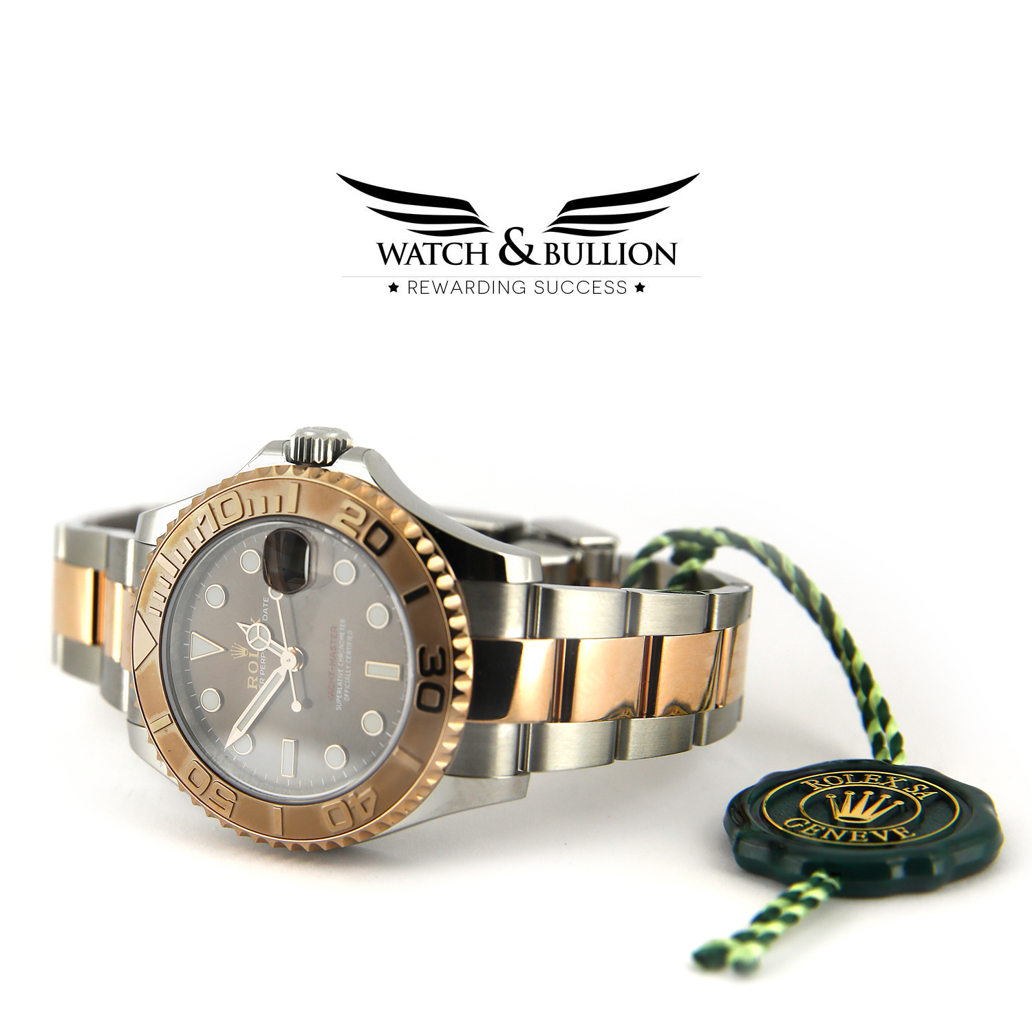 Rolex Yacht-Master 37 mm Steel & Everose - 268621