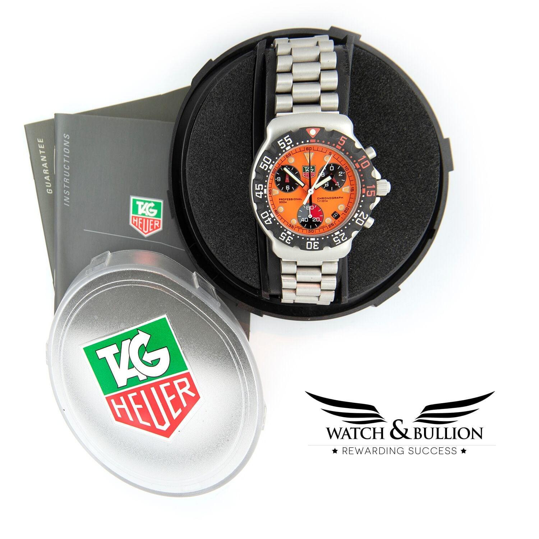 TAG Heuer Formula 1 FIA Chronograph Gulf Orange