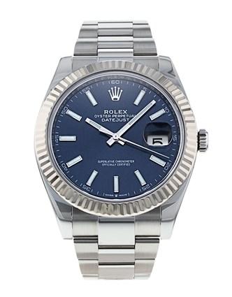 Datejust 41 Fluted Bezel Jubilee Bracelet reference 126334