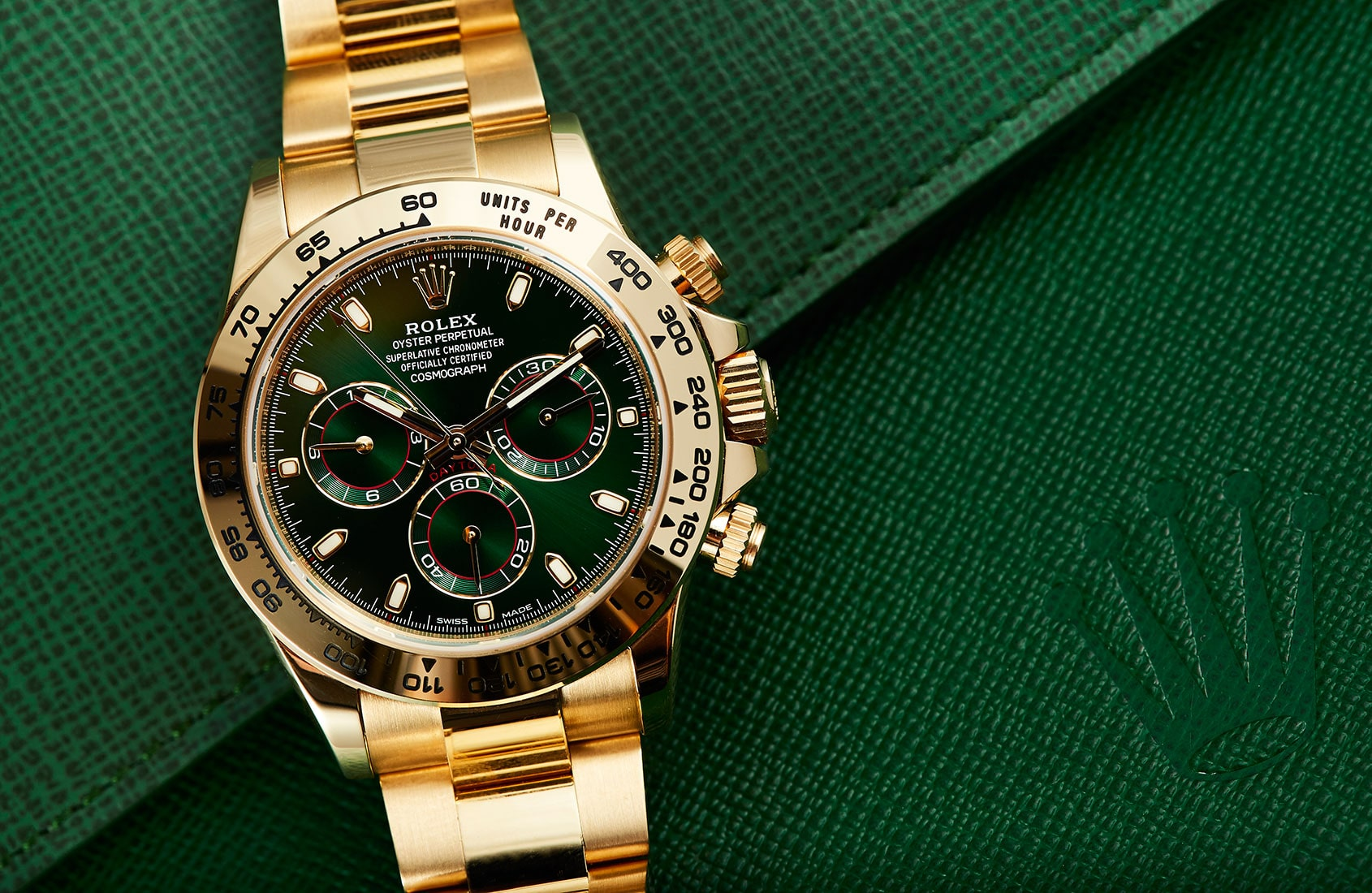 Green Face Rolex Watches