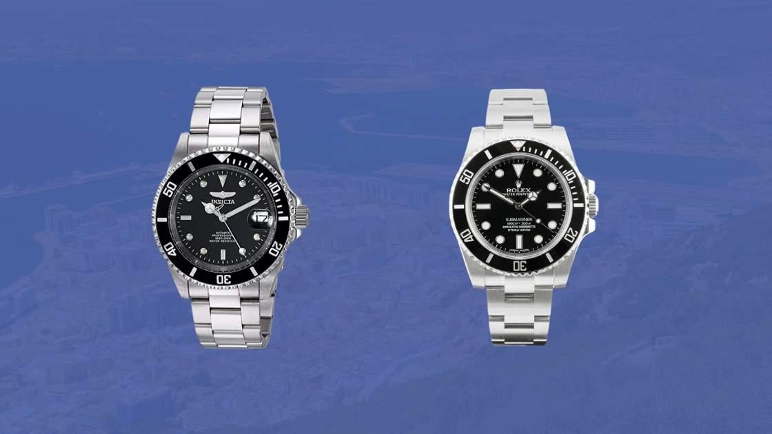invicta vs submariner