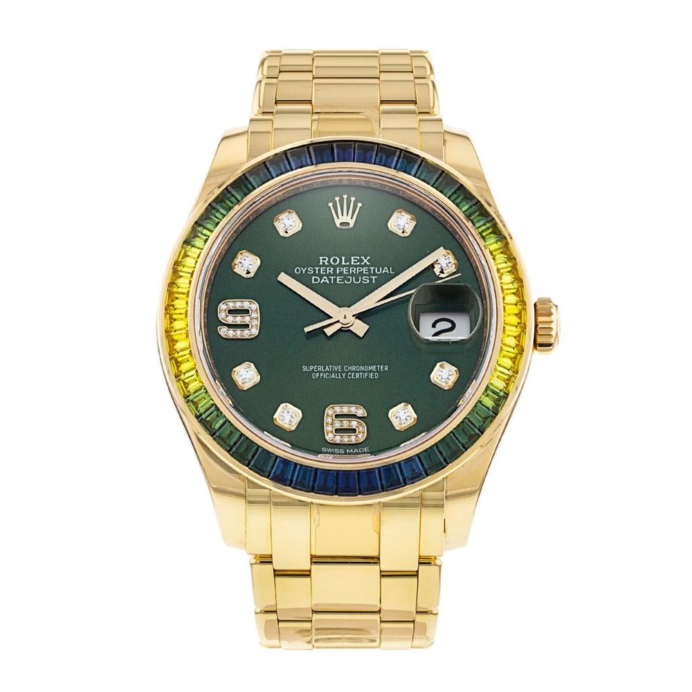 Rolex Pearlmaster Masterpiece ref. 86348SABLV