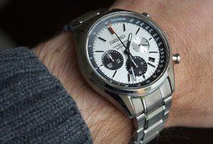 seiko solar chronographs